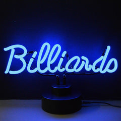 Neon Sculptures - Billiards Neon Sculpture