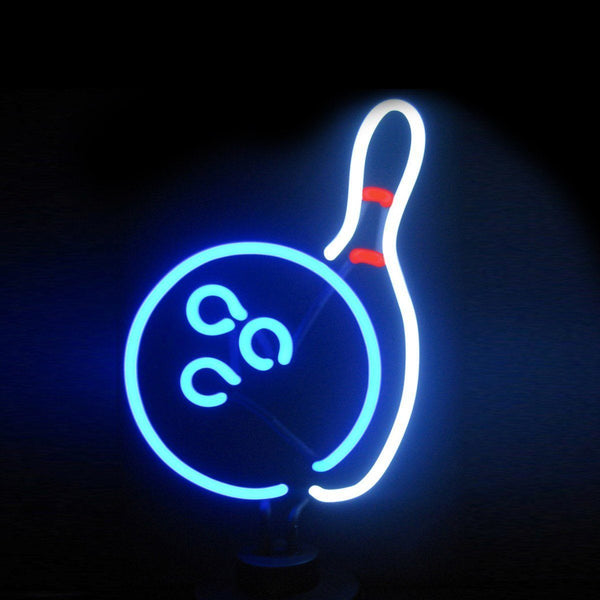 Neon Sculptures - Bowling Neon Sculpture
