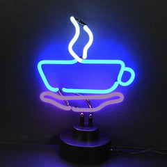 Neon Sculptures - Coffee Cup Neon Sculpture