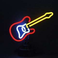 Neon Sculptures - Electric Guitar Neon Sculpture