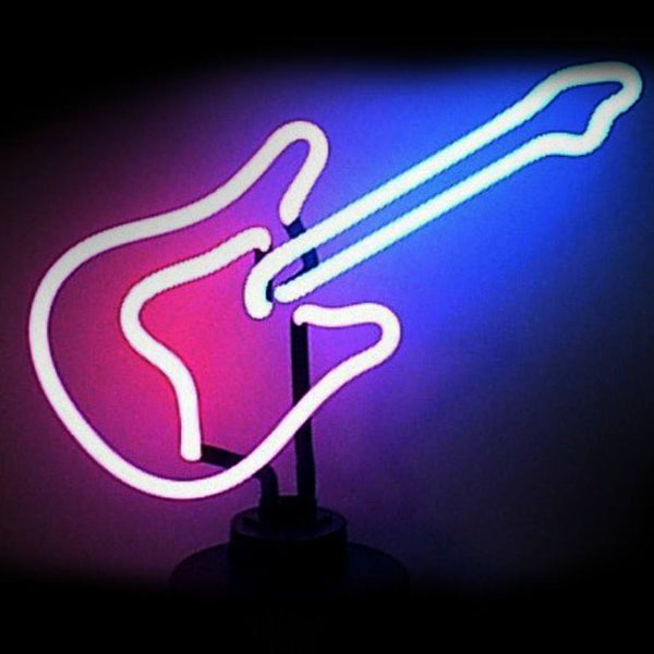 Neon Sculptures - Guitar Neon Sculpture