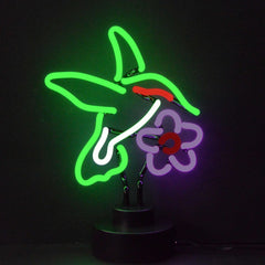 Neon Sculptures - Hummingbird Neon Sculpture