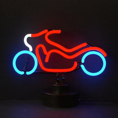 Neon Sculptures - Motorcycle Neon Sculpture