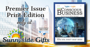 Conscious Business Magazine Launches with Exclusive Print Edition Available at Sunnyside Gifts
