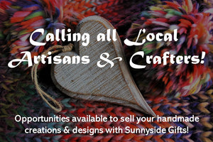 Announcing Opportunities for Artisans & Crafters at Sunnyside Gifts!