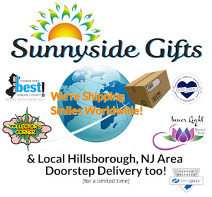 Shop Online 24/7 with Shipping Worldwide and Options for Sunnyside Gifts Curbside Pick-up or Doorstep Delivery in Hillsborough NJ Local Area