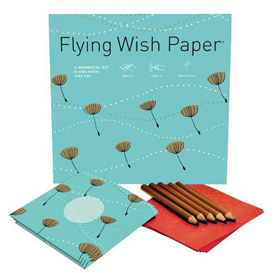 DANDELION PUFFS Large Flying Wish Paper Kit