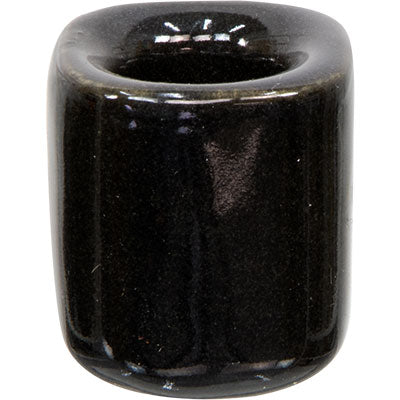 Black Ceramic Mini Candle Holder