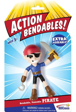 Pirate Action Bendable Figure
