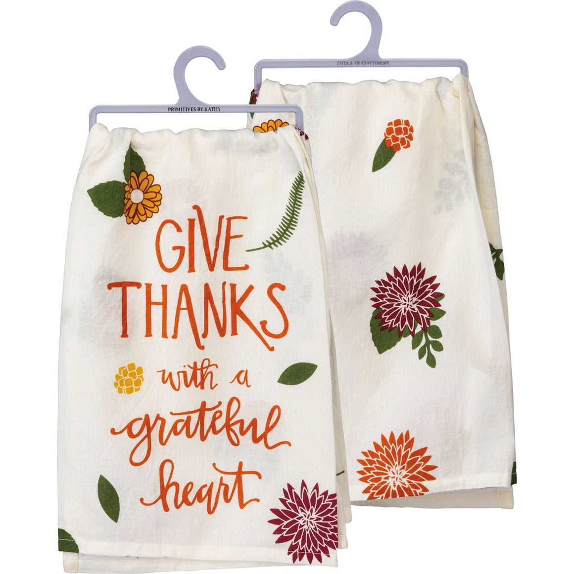 Give Thanks With A Grateful Heart Dish Towel