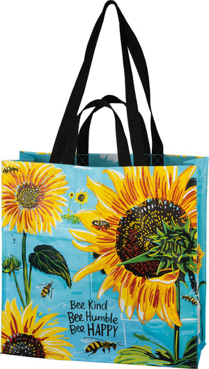 Bee Kind Bee Humble Bee Happy Market Tote