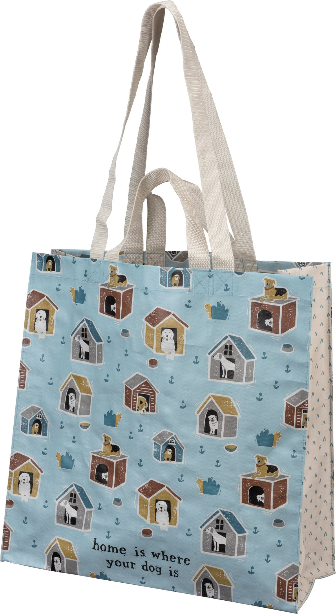 Home Is Where Your Dog Is Market Tote