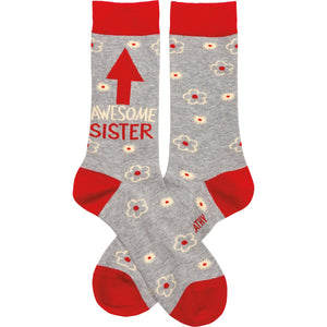 Awesome Sister Socks