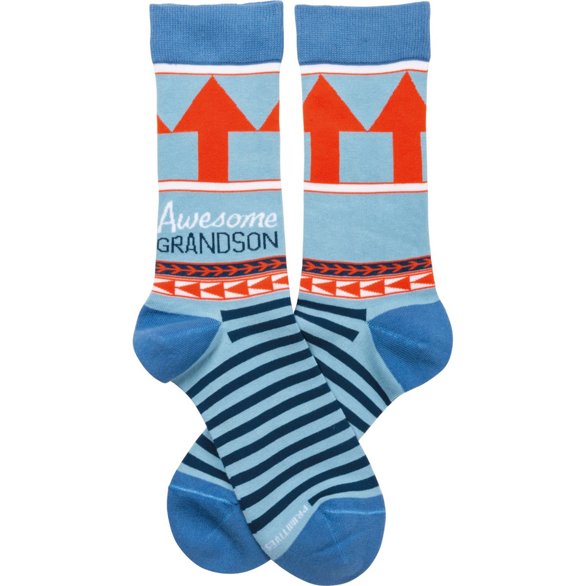 Awesome Grandson Socks