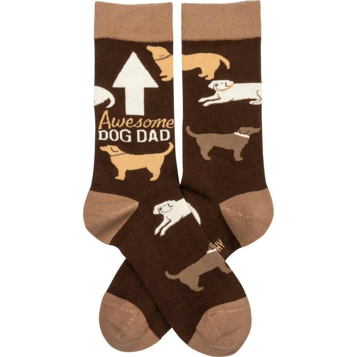 Awesome Dog Dad Socks