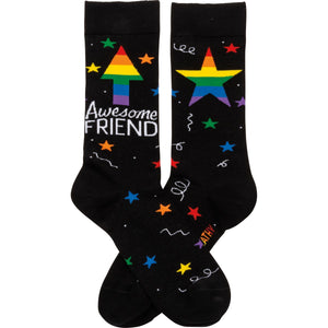 Awesome Friend Socks