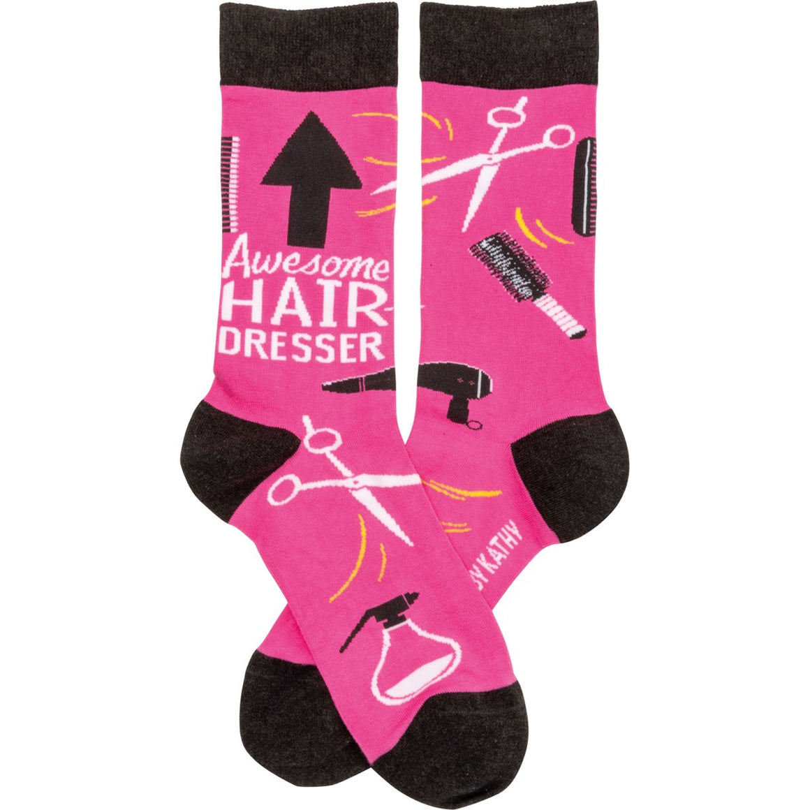 Awesome Hairdresser Socks