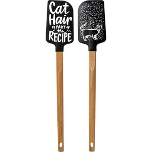 Cat Hair Is Part of the Recipe Spatula
