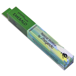 Emerald (Awareness) ~ Magnifiscents The Jewel Series Incense Sticks by Shoyeido