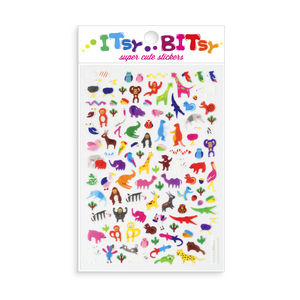 Itsy Bitsy Stickers - Jungle Pals