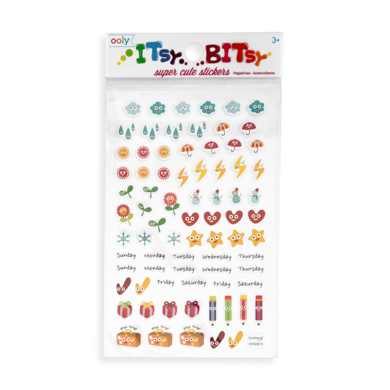 Itsy Bitsy Stickers - Happy Planner