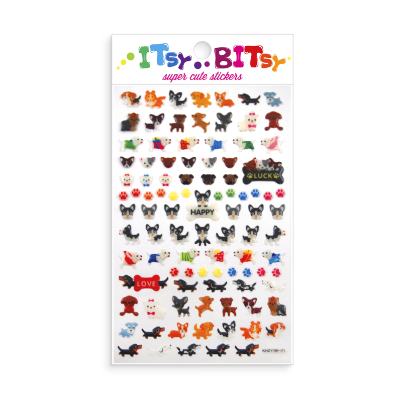 Itsy Bitsy Stickers - Pooches (Dogs & Puppies)