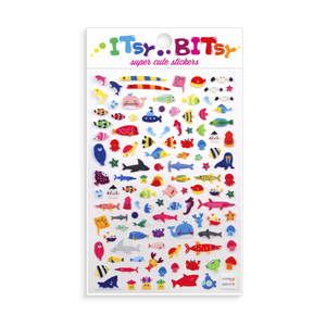 Itsy Bitsy Stickers - A Little Sea Life