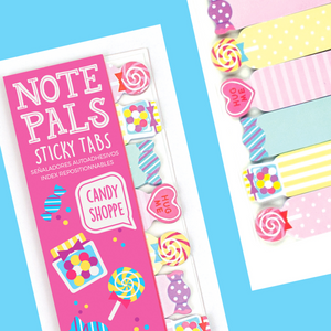Note Pals Sticky Tabs - Candy Shoppe