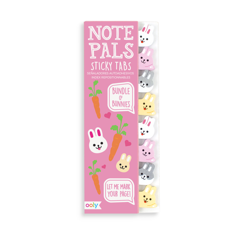 Note Pals Sticky Tabs - Bundle of Bunnies