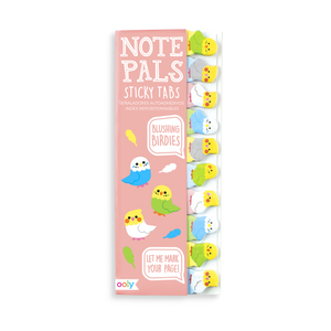 Note Pals Sticky Tabs - Blushing Birds