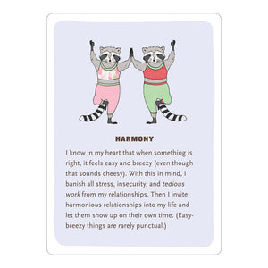 Affirmators! Love & Relationships: 50 Affirmation Cards to Help You Help Yourself—without the Self-Helpy Ness!