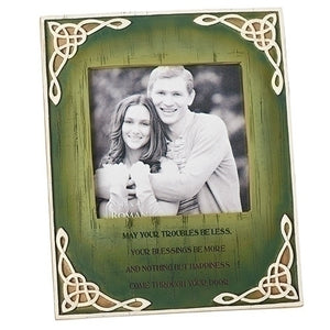 Irish Celtic Blessing Photo Frame