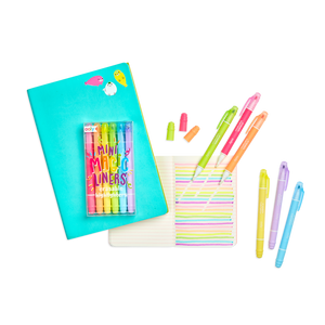 Mini Magic Liners Erasable Highlighters Set