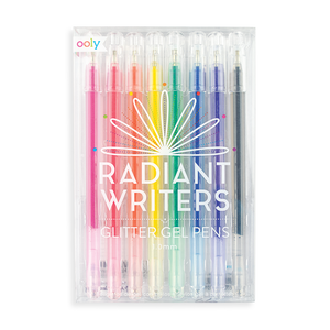 Radiant Writers Glitter Gel Pens Set