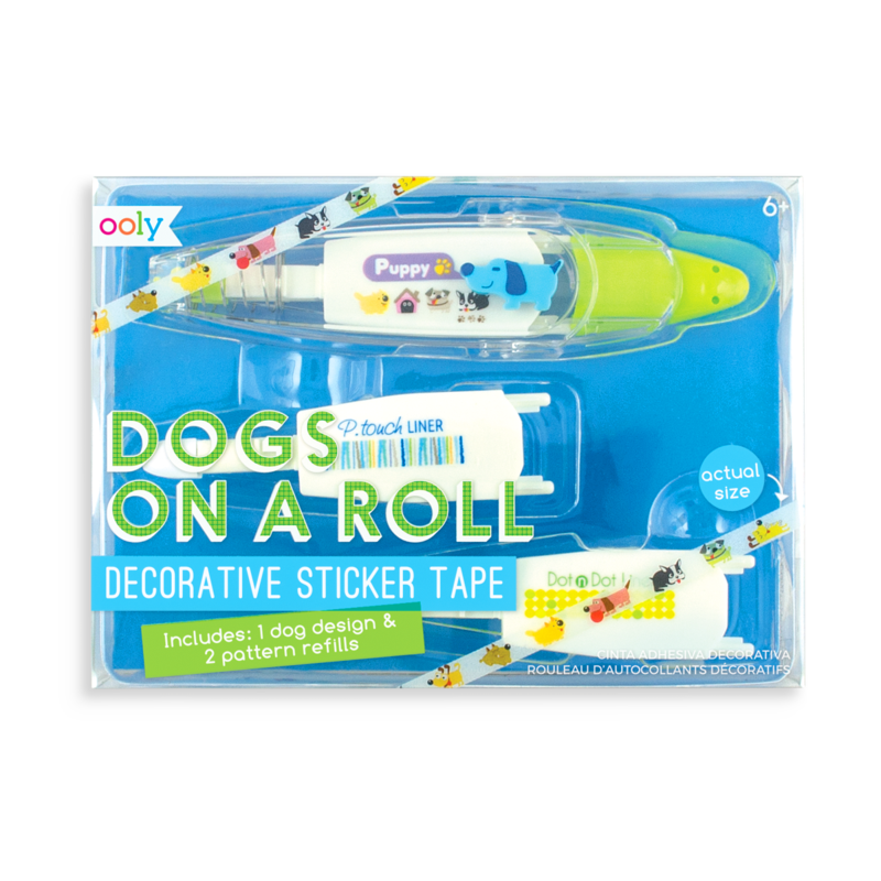 On a Roll Decorative Sticker Tape - Dogs
