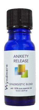 Anxiety Release Synergistic Blend ~ 10ml (1/3 oz)