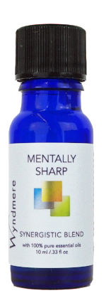 Mentally Sharp Synergistic Blend ~ 10ml (1/3 oz)