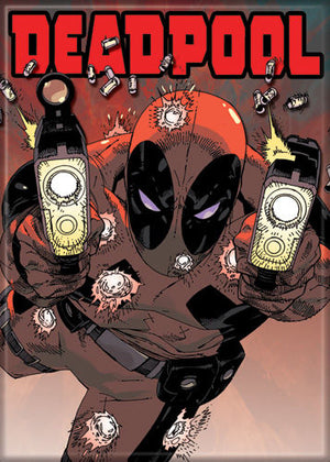 Deadpool Marvel Comic Magnet