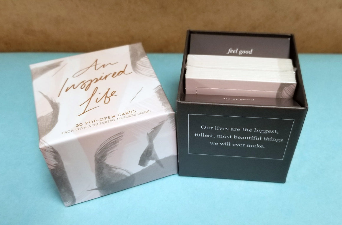 AN INSPIRED LIFE Pop-Open Thoughtfulls® Cards