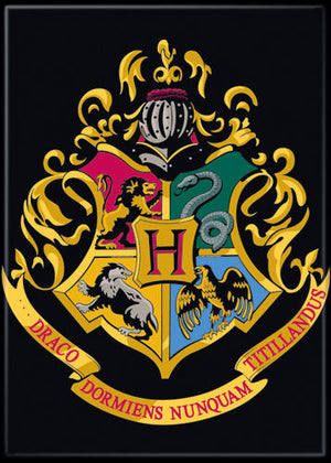 Hogwarts House emblem Harry Potter Magnet