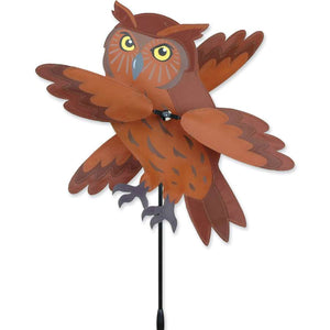 "Brown Owl WhirliGig Wind Spinner (17"")"