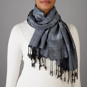 Mysterious Night Scarf Handcrafted in Egypt