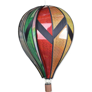 "Holograph Hot Air Balloon (26"") Wind Spinner"