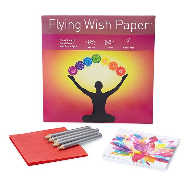 Chakra Large Flying Wish Paper Kit