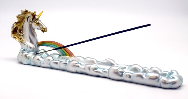 Unicorn Boat Incense Holder