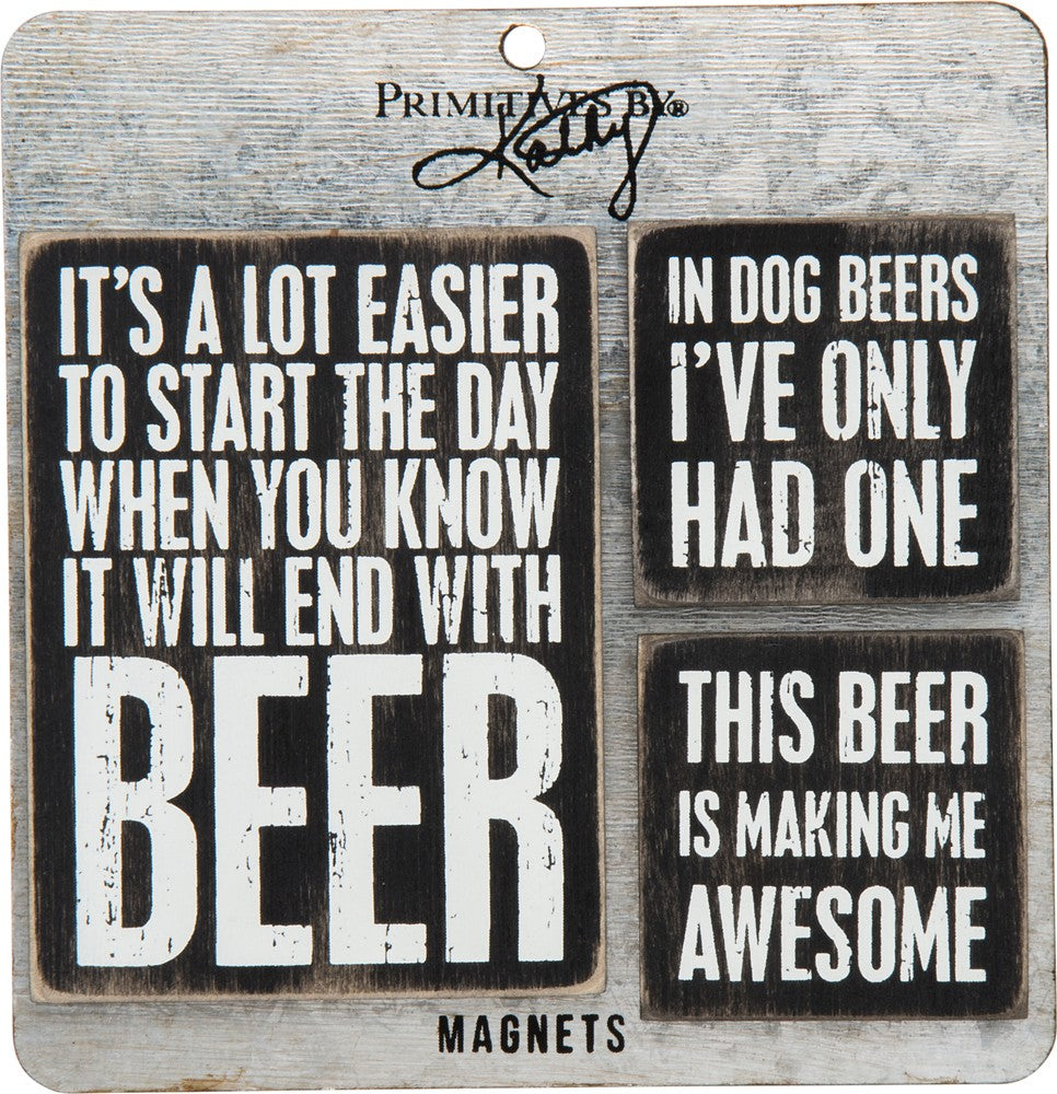 Beer - Magnet Set