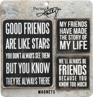Good Friends - Magnet Set