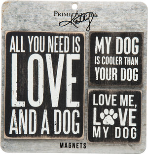 Dogs & Love ~ Magnet Set