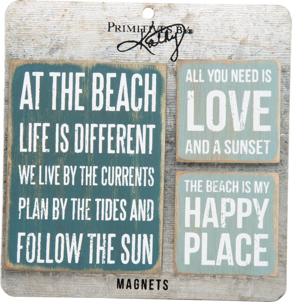 Beach - Magnet Set