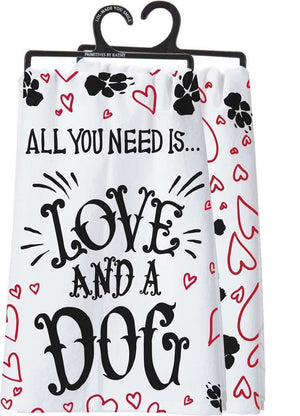 All You Need Is... Love And A Dog Dish Towel